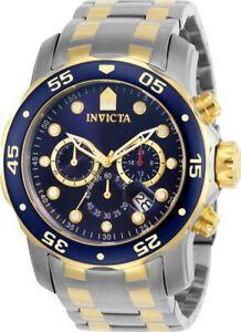 【送料無料】腕時計 メンズスキューバプロダイバーコレクションクロノグラフウォッチinvicta 0077 mens scuba pro diver ii collection chronograph watch