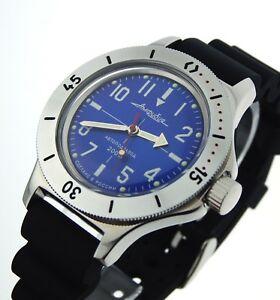 【送料無料】腕時計 ロシアヴォストークダイバーウォッチvostok amphibian automatic russian diver watch orologio russo 120648