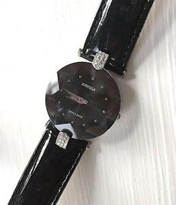 【送料無料】腕時計 スイスガラスミネラルガラススターカット