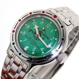 【送料無料】腕時計 ヴォストークサブvostok amphibia orologio russo 200m sub 420386