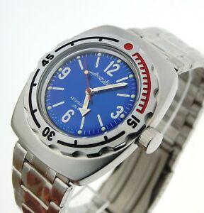 【送料無料】腕時計 ヴォストークダイバーウォッチvostok amphibia diver watch orologio russo 090914