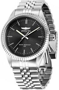 【送料無料】腕時計 メンズクオーツステンレススチールウォッチinvicta mens specialty quartz stainless steel watch 29372