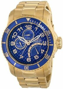 【送料無料】腕時計 メンズゴールドスチールブレスレットケースサファイアウォッチinvicta mens 488mm gold steel bracelet amp; case synthetic sapphire watch 15342