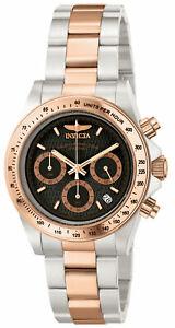 腕時計 メンズスピードウェイクロノグラフトーンカラースチールinvicta 6932 mens speedway chronograph twotone steel watch