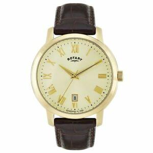 【送料無料】腕時計 メンズロータリー¥mens, a grade, rotary gs0246203 date wrist watch, rrp 100
