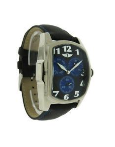 【送料無料】腕時計 メンズブラックトノーアナログレザーウォッチ