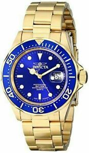 【送料無料】腕時計 メンズプロダイバークォーツステンレススチール9312 invicta mens pro diver quartz 200m gold plated stainless steel watch