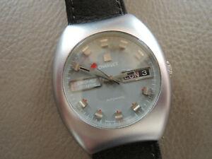 【送料無料】腕時計 オートヴィンテージフランスmontre charvet automatic vintage watch french jour date