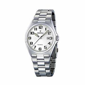 【送料無料】腕時計 orologio festina uomo in acciaio ref f1637949