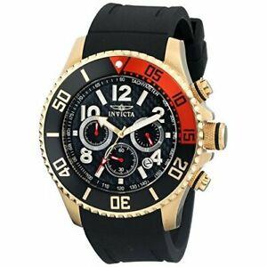 【送料無料】腕時計 プロダイバークロノグラフウォッチポリウレタンinvicta pro diver 13729 polyurethane chronograph watch