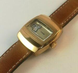 【送料無料】腕時計 アンティヴィンテージサービス montre heure sautante vintage watch aurore as and serviced