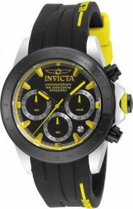 【送料無料】腕時計 メンズスピードウェイクロノグラフラバーストラップウォッチ mens invicta 17191 speedway chronograph rubber strap watch