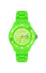 【送料無料】腕時計 ice watch sili green small signss09 analog silikon grn