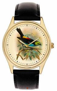 【送料無料】腕時計 ブレスレットドコレクションコールリストパラディサゾワゾーornithologie, montre de bracelet de collection, 40 mm, calliste paradisa oiseaux