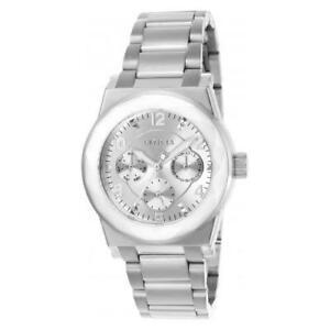 【送料無料】腕時計 エンジェルクォーツクロノグラフシルバーステンレススチールウォッチinvicta womens angel quartz chronograph stainless steel silver tone watch 20152