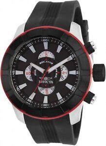 【送料無料】腕時計 メンズラリーブラックラバーストラップウォッチ