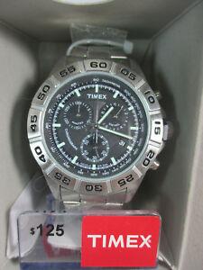 【送料無料】腕時計 ステンレススチールドルbrand with box genuine timex men stainless steel watch t2n8879j msrp 125