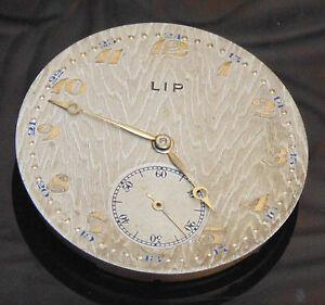 【送料無料】腕時計 リップボンrare ancien montre mouvement mecanique sign lip et n bon etat general