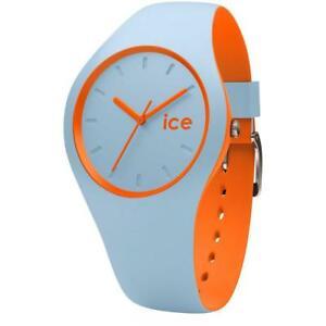 【送料無料】腕時計 シリコンデュオオレンジサブメートルウォッチorologio ice watch duo icduooes silicone celeste arancione regular sub 100mt