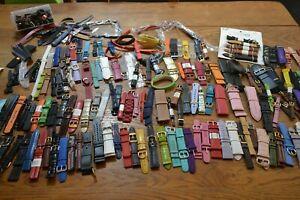 【送料無料】腕時計 グロロットブレスレットドgros lot de 174 bracelets de montres cuir tissu plastique