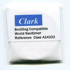 【送料無料】腕時計 #クラーク#ワイドサファイアクリスタルケース034;clark034; sapphire crystal for breitling world navitimer case a24322 422 mm