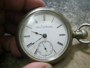 【送料無料】腕時計 メンズサイズスイングアウトケースポケットウィーラーウォッチ