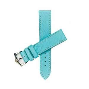 【送料無料】腕時計 light blu epsom leather watch strap