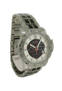 【送料無料】腕時計 メンズラウンドシルバーストーンクロノグラフアナログウォッチelgine 1863 521021 mens round silver tone chronograph date analog watch