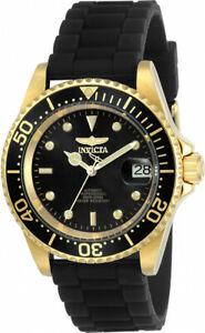 【送料無料】腕時計 メンズプロダイバーステンレススチールブラックシリコンウォッチ