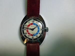【送料無料】腕時計 vintage watch selhor school children learning time