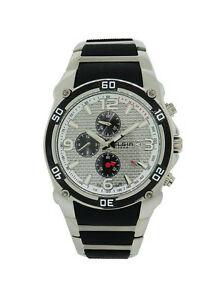 【送料無料】腕時計 メンズクロノグラフステンレススチールプラスチック