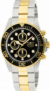 【送料無料】腕時計 メンズプロダイバークォーツクロノグラフメートルトーンステンレススチールinvicta mens pro diver quartz chrono 200m two tone stainless steel watch 1772