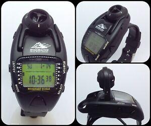 【送料無料】腕時計 マスターデジタルウォッチビューフォートスケールスイスセンサwind masterdigital watchbeaufort scalewindtempaltibaroswiss made sensor