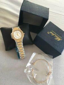 【送料無料】腕時計 シックmontre pour femme automatique quartz luxe strass acier or glamour chic