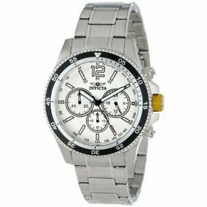 【送料無料】腕時計 ステンレススチールクロノグラフウォッチinvicta specialty 13975 stainless steel chronograph watch