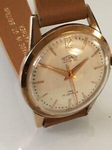 【送料無料】腕時計 ヴィンテージテクノスvintage gents 1960s technos wrist watch
