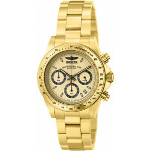 【送料無料】腕時計 ステンレススチールスピードウェイクロノグラフウォッチinvicta speedway 14929 stainless steel chronograph watch