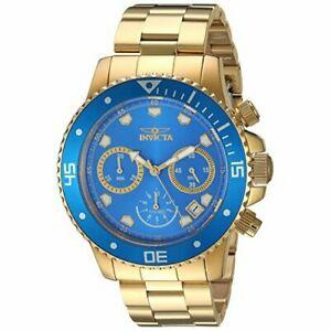【送料無料】腕時計 プロダイバー#ゴールドステンレススチールクロノグラフウォッチinvicta men039;s pro diver 21894 gold stainless steel chronograph watch