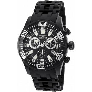 【送料無料】腕時計 ステンレススチールポリウレタンクロノグラフウォッチinvicta sea spider 19533 stainless steel, polyurethane chronograph watch