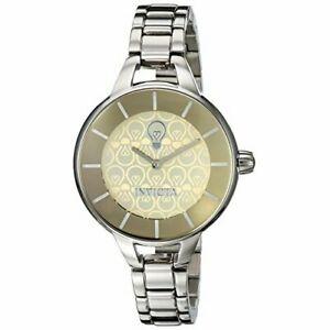 【送料無料】腕時計 ステンレススチールウォッチinvicta gabrielle union 22911 stainless steel watch