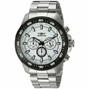 【送料無料】腕時計 #スピードウェイステンレススチールクロノグラフウォッチinvicta men039;s speedway 22782 stainless steel chronograph watch