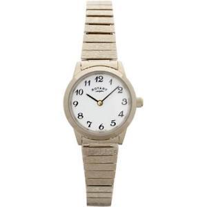 【送料無料】腕時計 ブレスレットレディースロータリーrotary lbi00762 ladies classic gold plated expanding bracelet watch rrp 10500