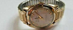 【送料無料】腕時計 ビンテージメンズウォッチジュエルvintage bulova 23 jewel self winding wrist watch mens 1950s