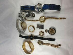 【送料無料】腕時計 ロットデlot de 11 montres anciennes