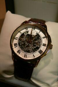 【送料無料】腕時計 ロータリーウォッチメンズステンレススチールメッキケースrotary watch mens stainless steel plated case skeletel gs03862