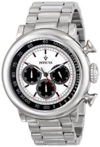 【送料無料】腕時計 メンズヴィンテージクロノグラフクオーツステンレススチールinvicta mens vintage chronograph 100m quartz stainless steel watch 15065