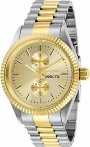 【送料無料】腕時計 メンズクオーツクロノグラフトーンステンレススチールウォッチ29425 invicta mens specialty quartz chrono two tone stainless steel watch