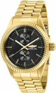 【送料無料】腕時計 メンズクロノグラフゴールドトーンステンレススチールウォッチ29427 invicta mens specialty quartz chrono gold tone stainless steel watch