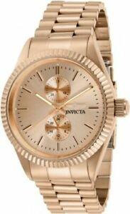 【送料無料】腕時計 メンズクォーツクロノローズゴールドトーンステンレススチールウォッチ29436 invicta mens specialty quartz chrono rose gold tone stainless steel watch