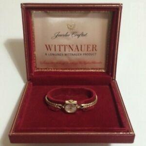 【送料無料】腕時計 ウィットヴィンテージボックスorologio watch wittnauer vintage women lady 14 mm with box